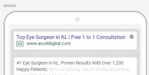 Ads Headline and Description