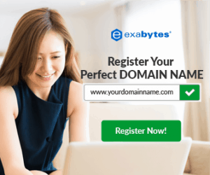 Exabytes register domain and web hosting in Malaysia