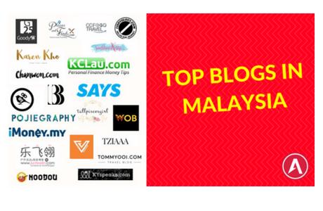 Top 21 Blogs in Malaysia